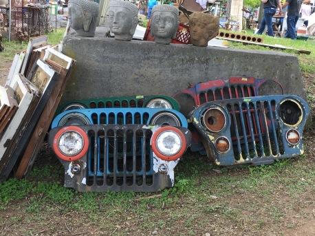 Jeep grills.